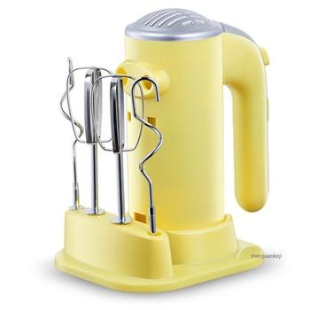 Mezclador eléctrico multifunción EGK-200R Mini batidor de huevos de escritorio máquina mezcladora de 5 engranajes para golpear huevos/Crema para el hogar DIY herramienta para hornear