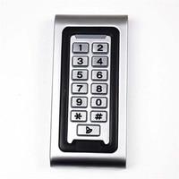 Edelstahl gemeinschaft elektronische wasserdichte smart touch metall access control maschine