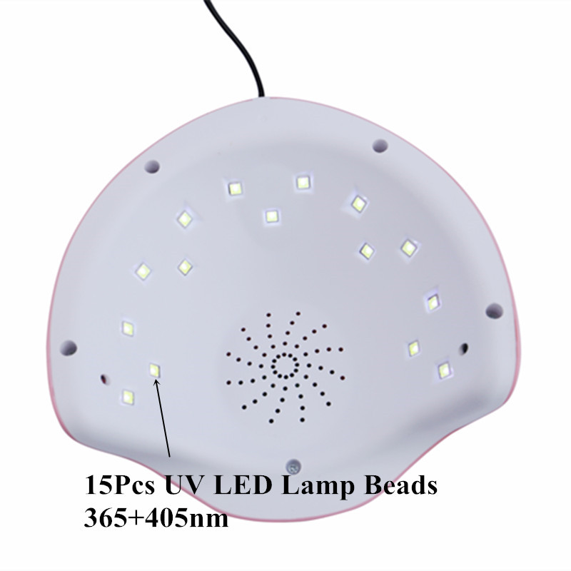Latest Nail Dryer 30W UV LED Lamp Nail For Manicure To Perfect Salon Nail Art Tools 5