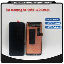 OEM LCD Screen and Digitizer Assembly Replacement Part for Samsung Galaxy S8 G950 G950F G950V G950T - Black(China)