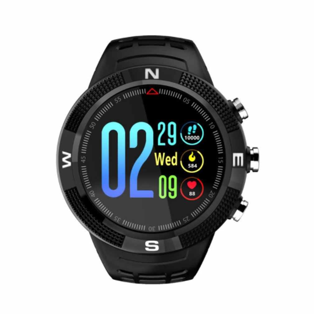 Новинка IP68 Водонепроницаемый gps Смарт-часы F18 цветной экран большой аккумулятор слуховой ритм монитор для мужчин и женщин спортивные умные часы