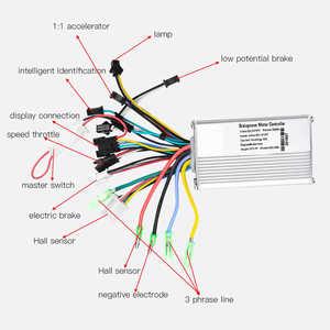 Image 5 - Bici elettrica Regolatore 24V/36V/48V 250W/350W Brushless Controller con DISPLAY LCD pannello di visualizzazione per la Bicicletta Elettrica e bike scooter