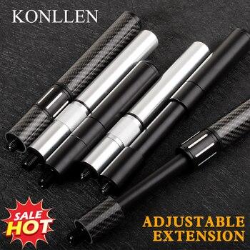 KONLLEN Adjustable Extension Billiard Cue Three Bumper Available Carbon Fiber Suit For MEZZ/HOW/FURY/PREOAIDR/ZOKUE - discount item  40% OFF Entertainment