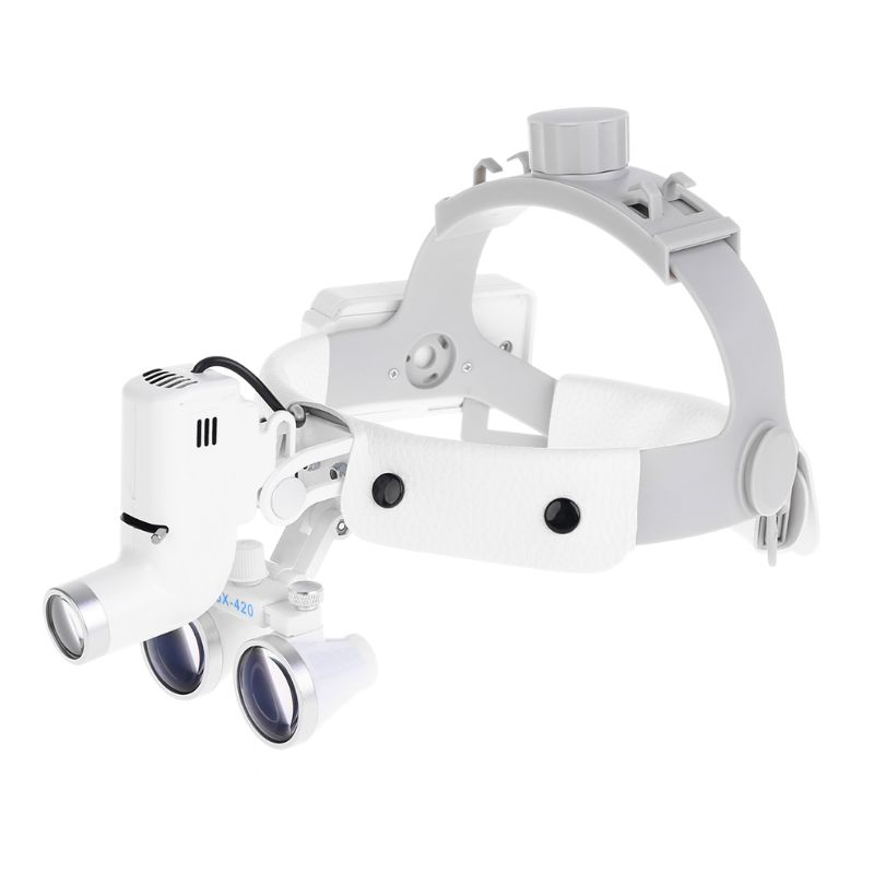 Image 3 - 3.5X Magnify Headlight Loupe Dental Headband Magnifier LoupesMagnifiers   -
