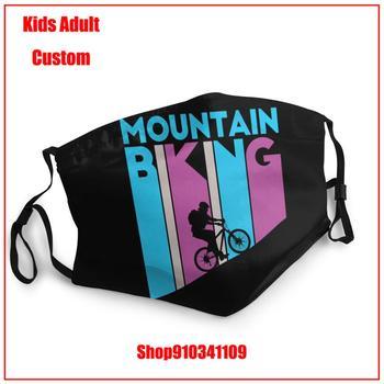 Most popular Mountain Biking Kids adult men women DIY mask for face fashion washable reusable face mask adult