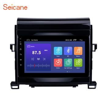 Seicane Android 10 2 din Car Radio Multimedia Player For Toyota ALPHARD/Vellfire ANH20 2009-2013 2014 GPS Stereo GPS Navigation image