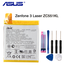 Original ASUS High Capacity C11P1606 Phone Battery For ASUS Zenfone 3 Laser 5.5 ZC551KL 3000mAh защитное стекло partner для asus zenfone3 laser zc551kl 9h