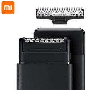 Image 2 - Original Xiaomi Super Thinเครื่องโกนหนวดไฟฟ้าสีดำกันน้ำXiaomiมีดโกนคุณภาพสูงเครื่องตัด