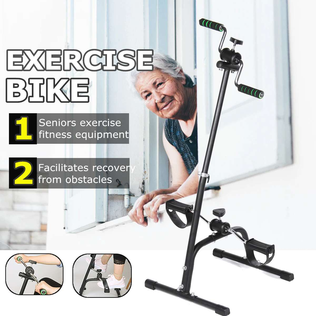 Exercise Bike Stationary Bike Trainer Cycling Bicycle Cardio Sport Gym Upright Bikes Home Gym Cardio-Tools Trainer Fitness-Equip