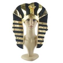 Hat Costume-Prop Dress Vintage Headpiece Pharaoh Egyptian Adult Men Fancy King Children