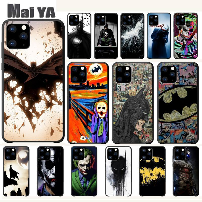 DC Comics Batman Joker Harley Luxury Phone Case Coque For Iphone 5s Se 6 6s 7