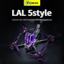 Eachine LAL 5 estilos 220mm 4S/6S Estilo Libre 5 pulgadas Dron de carreras con visión en primera persona PNP/BNF F4 Bluetooth Caddx Ratel 2307 1850KV Motor 50A ESC