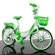 Modelo de bicicleta, aleación de Zinc, decoración del hogar, ventana de visualización, ornamento de escritorio, simulación, Vintage, oficina, juguetes para adultos, accesorios en miniatura