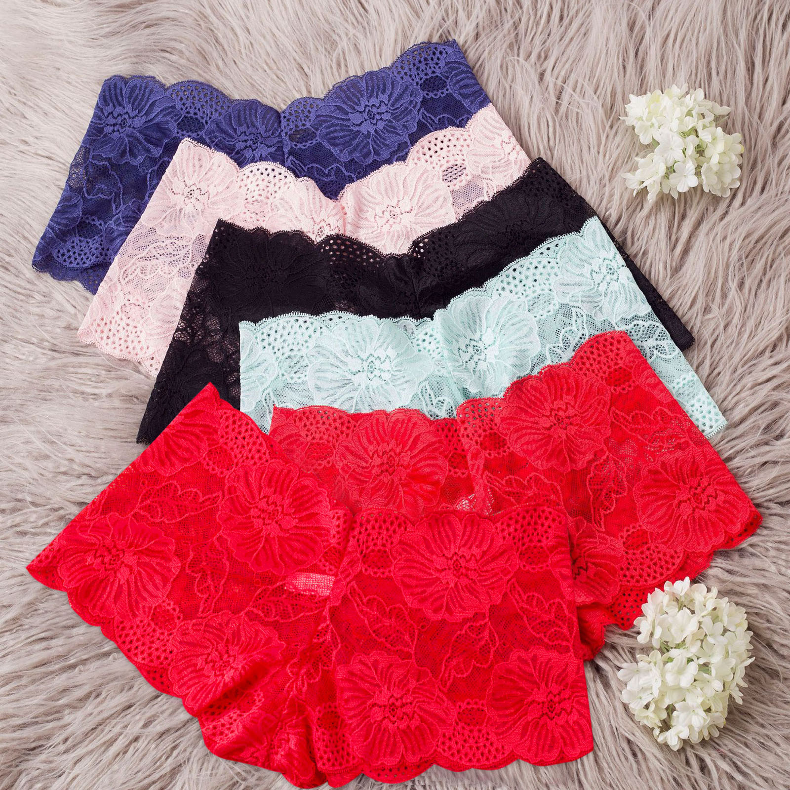 New Fashion Sexy Lingerie Lace Brief Underpant Sleepwear Underwear S-XL