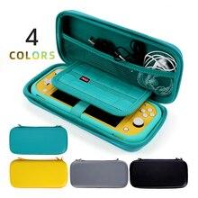 Yeni saklama çantası Nintendo anahtarı için mini taşınabilir seyahat koruyucu çanta Nintendo anahtarı lite durumda 4 renk veya 4 takım