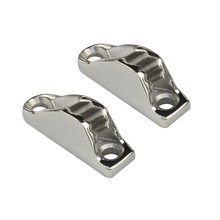 2PCS Stainless Steel Marine Hardware Boat Mooring Cam Cleat For Boats cheap Vcadit CN(Origin) Stainless steel 316 18x48mm Deck Rope Cleat Pontoon Dock Yacht Kayak Sailboat Polish Cam Cleat-054