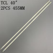 455 مللي متر LED الخلفية قطاع 60 مصباح ل زلاجات 2011SGS40 5630 60 H1 REV1.0 LJ64 03567A LJ64 03029A 40INCH L1S 60 LTA400HM13 L40F3200B