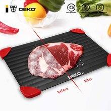 DEKO – plateau de décongélation magique pour aliments, plateau de décongélation rapide pour fruits de mer, assiette pour la zone de réglage du Steak et de la viande, nouveaux Gadgets de cuisine