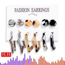 Vintage Tassel Bohemian Set Big Dangle Drop Earrings SA