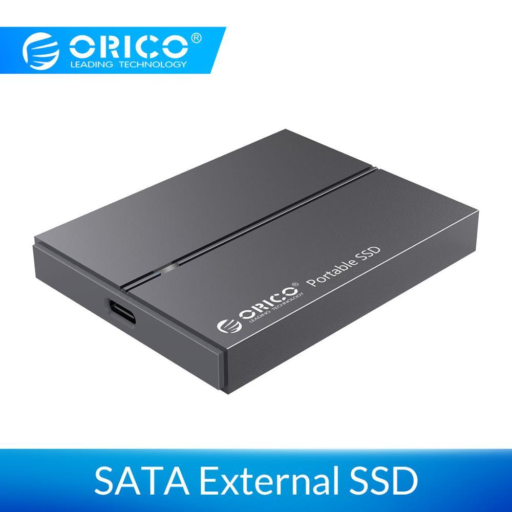ORICO внешний SSD жесткий диск 1 ТБ SSD 128 ГБ 256 ГБ 512 ГБ SATA mSATA NVME портативный SSD 1 ТБ внешний твердотельный накопитель