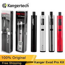 100% Original Kanger Evod Pro Starter Kit All in One Design 4ml Top Filling With CLOCC Coil Kangertech E-cigs Vape Kit цены онлайн