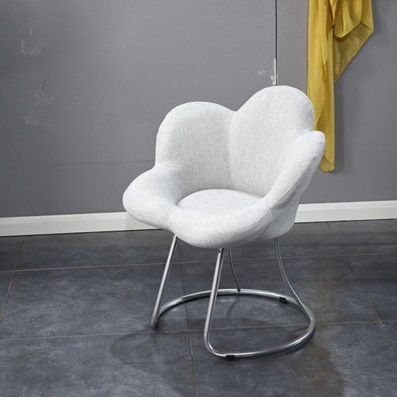 38%Creative Plum Chair Lazy Sofa Balcony Bedroom Chair Adult Cute Single Small Casual Computer Chair Stool