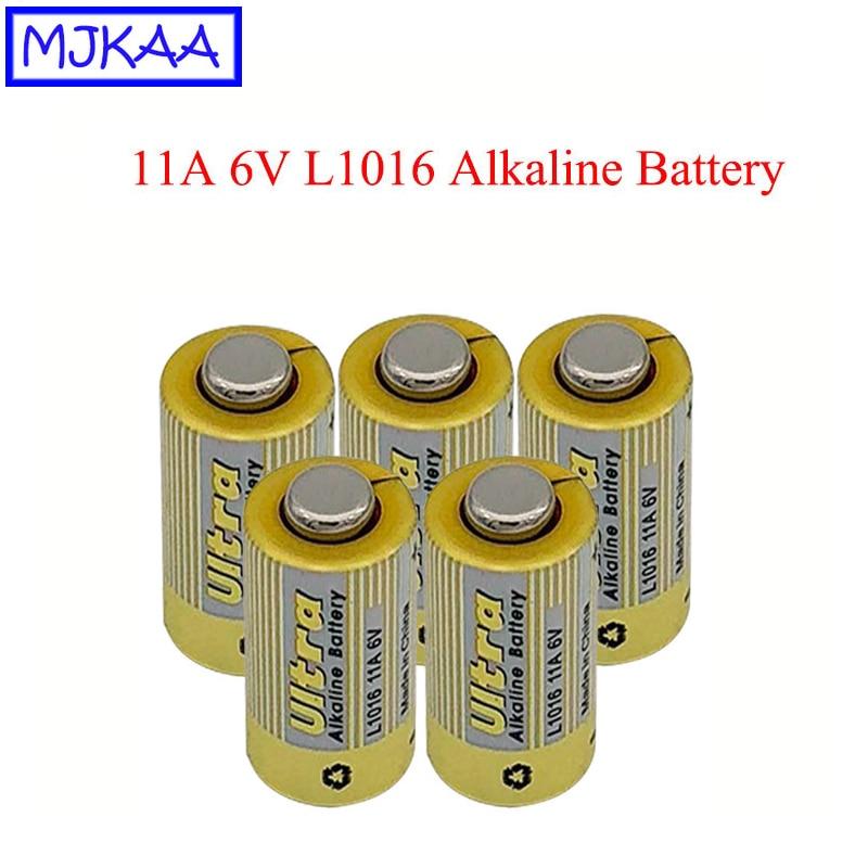 MJKAA 5 個 L1016 11A6V アルカリ電池 11A 6 1.5v 乾電池リモートコントロールボート · ウォッチ玩具電卓