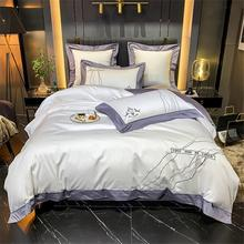 Elastic-Band-Sheets Single-Bed High-End4/6bedding-Set Egyptian of Cotton Smooth Silky