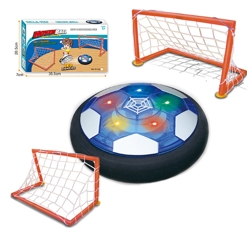 Novelty Air Suspended Football Floating Children Fllashing Sport Toy Ball Toys Hovering Multi-surface Indoor Gliding Football