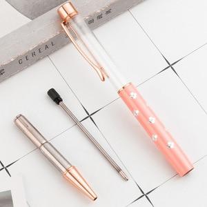 Image 4 - 21pcs/set DIY Metal Ballpoint Pen Wedding Gift DIY Pen Fashion DIY empty Pen Japanese Wholesale Gift PEN Gift for Wedding