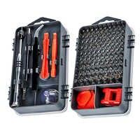 115 In 1 Schraubendreher-satz Magnetischen Schraubendreher Bit Torx Multi Handy Reparatur Tools Kit Elektronische Gerät Hand Werkzeug