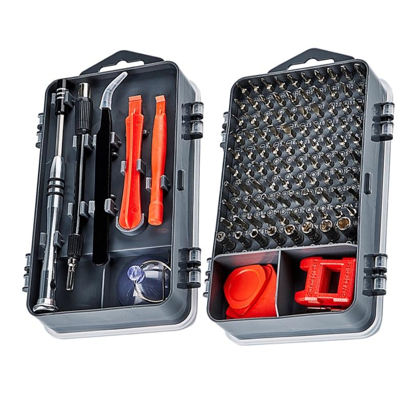 115 In 1 Screwdriver Set Magnetic Screwdriver Bit Torx Multi Mobile Phone Repair Tools Kit Electronic Device Hand Tool