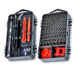 115 w 1 zestaw wkrętaków śrubokręt magnetyczny Torx Multi narzędzia do naprawy telefonów zestaw urządzeń elektronicznych narzędzi ręcznych w Śrubokręty od Narzędzia na
