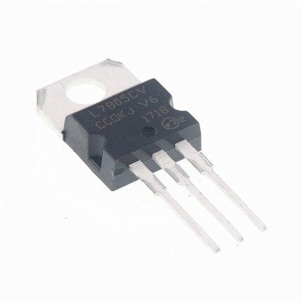 10 шт./лот L7805CV L7805 7805 LM7805 KA7805 TO 220 Регулятор напряжения 5 В в наличии Интегральные схемы      АлиЭкспресс