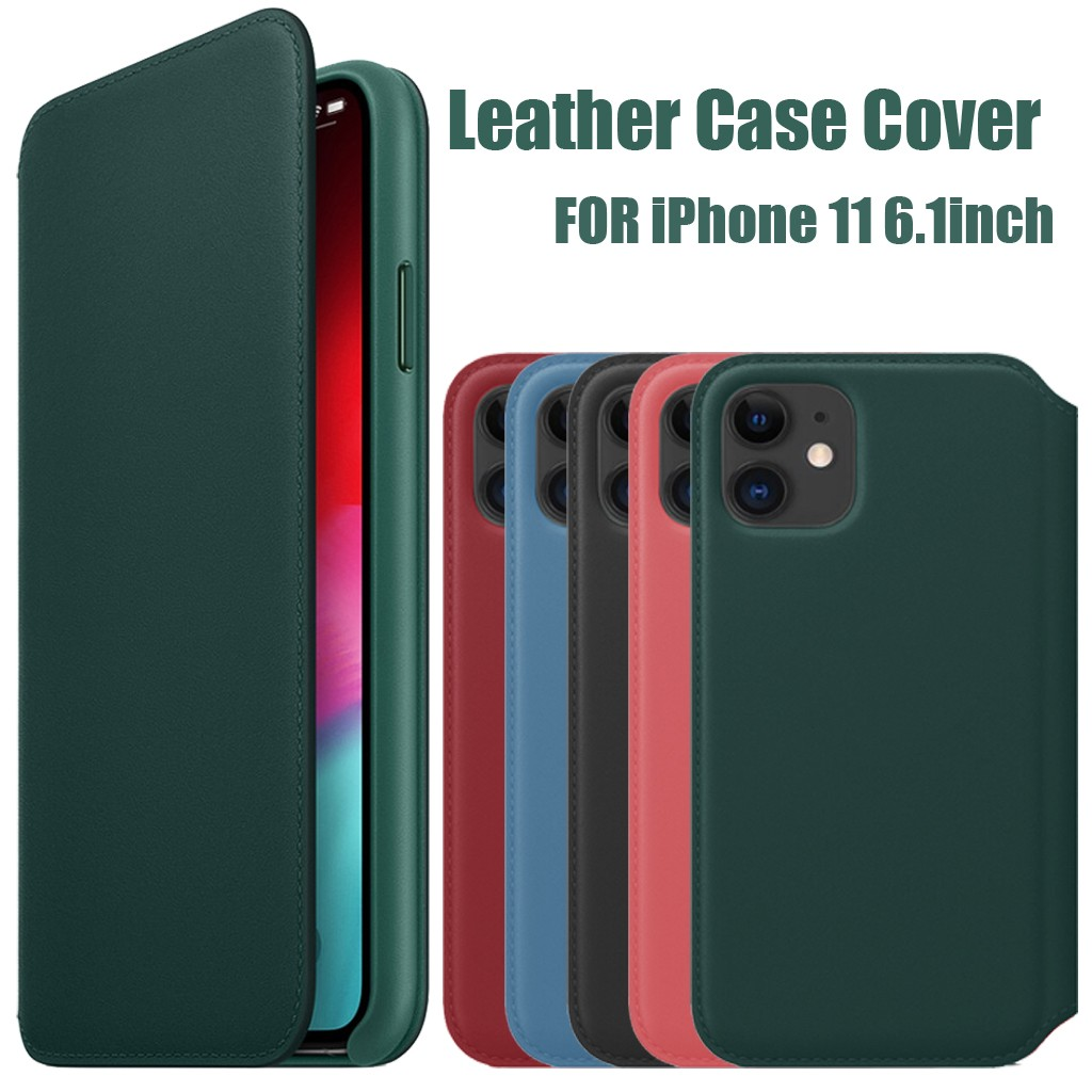 Luxury Leather Folio Case for iPhone X XS Max XS Wallet Slot Card Cover Capa for iphone 11 pro max Sleep Wake Up Case