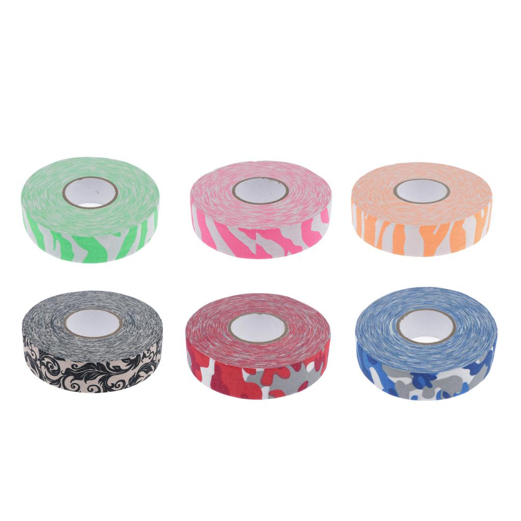 Ice Hockey Stick Tape For Stick/Shaft/Bat, 25mm X 25m Tennis Racket Grip Tape Overgrip Wrap Choose Colors