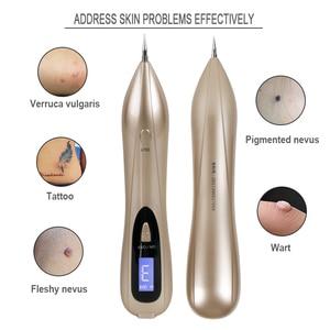 Image 4 - Beauty Star LCD Laser Plasma Pen Mole Tattoo Remover Dark Spot Remover pieg brodawki narzędzie do usuwania znaczników skóry pielęgnacja skóry