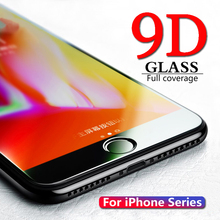 9D Tempered Glass for iPhone 7 Screen Protector iPhone 8 Xr Xs Xs Max Protective Glass on iPhone X 6 6s 7 8 Plus Xs Glass film 9d tempered film for apple iphone 6 7 8 plus protective glass for apple iphone 6 7 8 plus on tempered glass film 6 7 8 plus
