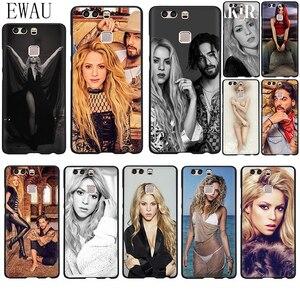 Мягкий силиконовый чехол EWAU Shakira Maluma для телефона Huawei P8 P9 P10 P20 P30 P40 Lite Pro P Smart Z plus
