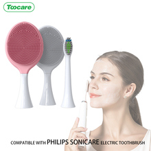 Heads Replacement Sushi/doctor Toothbrush-Heads Facial-Cleansing-Brush Electric Silicone