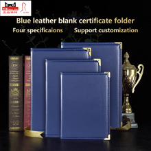 Certificate-Holder Graduation-Cover Folio Diploma Blank Padded Smooth Customized Gold
