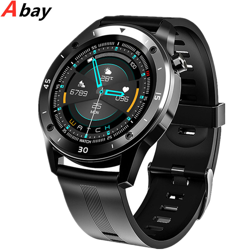 2020 Steel Men IP68 Waterproof Smart Watch Bluetooth Smartwatch Women Heart Rate Monitor Ladies Fitness Tracker For ios Android