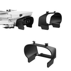 Image 1 - Легкая Антибликовая бленда объектива для DJI Mavic Mini Drone Gimbal Camera Защитная крышка быстросъемный объектив Защита от солнца