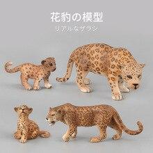 Simulation Wild Jungle Animal Figure Zoo Leopard Model Collectible Figurine Toys Children Action Figures Kids Fun Toy Home Decor цена 2017