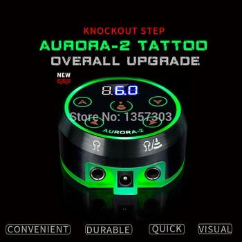 2019 Новый профессиональный мини Аврора ЖКД тату блок питания с адаптером питания для катушки и роторных тату-машин