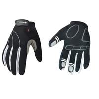 New Men Women Cycling Mountain Bike Gloves Breathable Shockproof Sports Long Full Finger Mittens