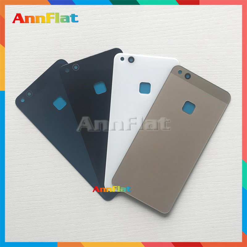 10Pcs High Quality For <font><b>Huawei</b></font> P10 Lite / For Nova Lite Back Housing <font><b>Battery</b></font> Cover Door Rear Cover Glass <font><b>P10Lite</b></font> with Adhesive image