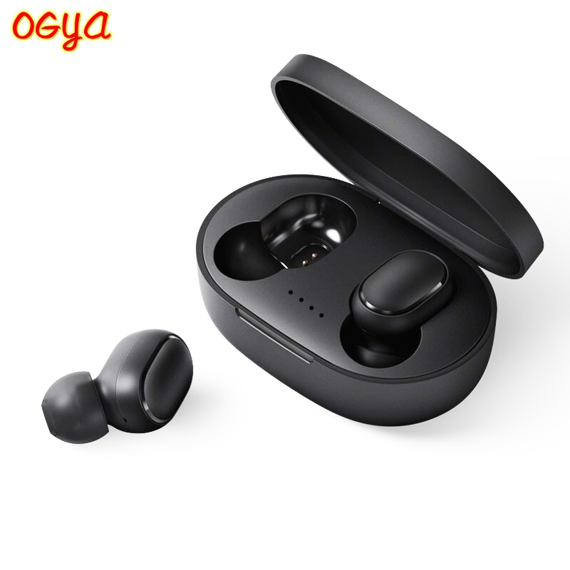 <font><b>A6S</b></font> <font><b>Wireless</b></font> Earphone <font><b>TWS</b></font> For Xiaomi Redmi Airdots Earbuds Bluetooth 5.0 Headsets Noise Cancelling Mic for iPhone Huawei Samsung image
