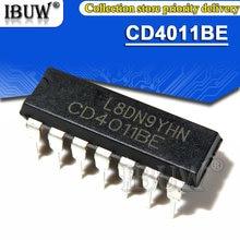 10PCS CD4011BE DIP14 CD4011 DIP-14 CD4011BD DIP