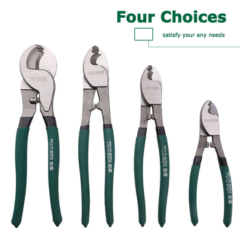 QUK Pliers Wire Stripper Cable Cutter Multitool Stripping Cutting Plier Set Side Snips Industrial-grade Electricians Hand Tools 4